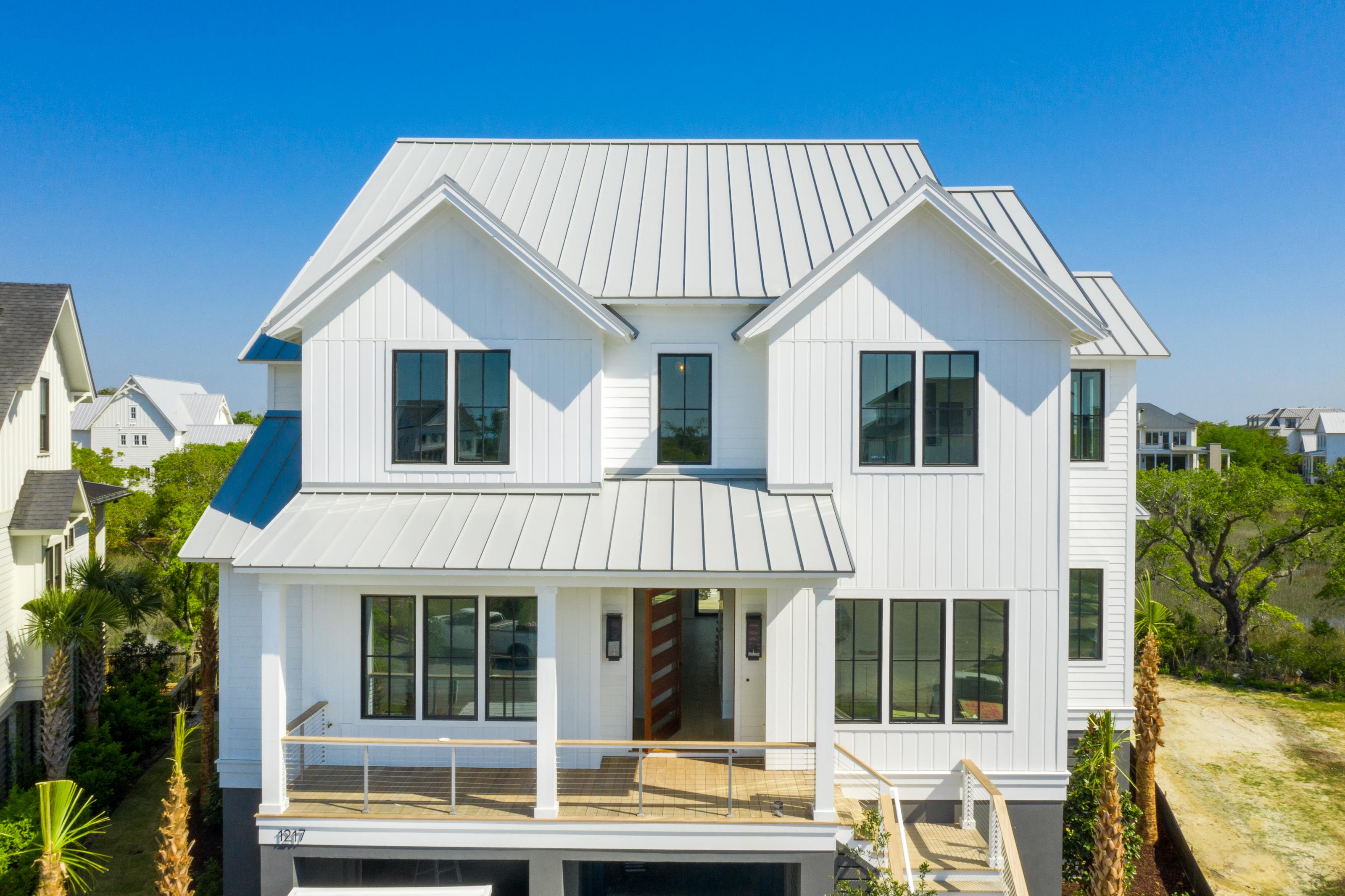 Dove Grey roof, metal roof, Custom Home Builder, Daniel Island